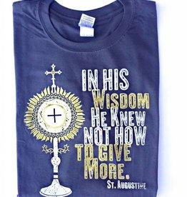 Catholic T-Shirt Club Adoration Monstrance T-Shirt