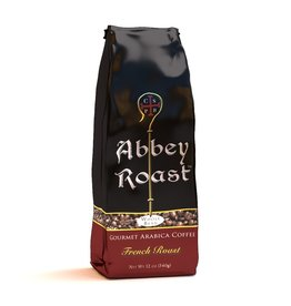 Abbey Roast Abbey Roast Coffee French Roast 12 oz (ground)