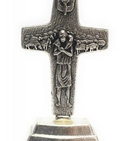 "Lumen Mundi 1"" Pope Francis Cross on Base"