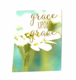 Leanin Tree Grace upon Grace Birthday Card