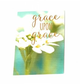Leanin Tree Grace upon Grace Birthday Card
