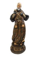 "Avalon Gallery 9"" Saint Pio Statue"