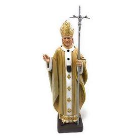 """Christian Brands 9"""" St. John Paul II Resin Statue"""