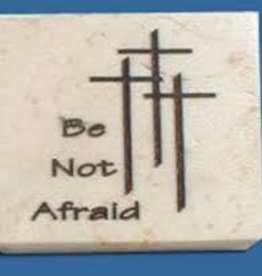 Holy Land Stone Be not afraid - Promise Stone