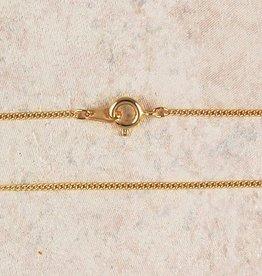 "McVan 16"" Fine Gold Plated Chain"
