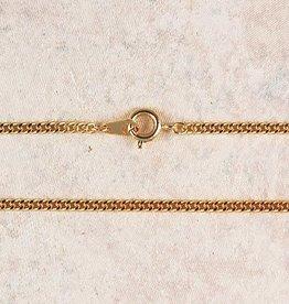 "McVan 16"" Medium Gold Plated Chain"