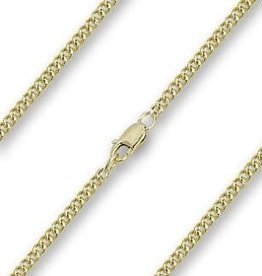 "Bliss Manufacturing 18"" Rhodium Chain - Light - Hamilton Gold"