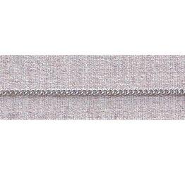 """McVan 20"""" French Rope Rhodium Chain"""