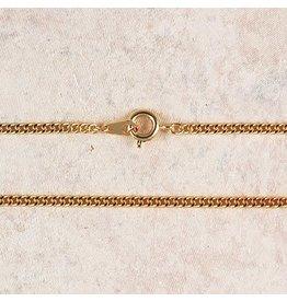 "McVan 20"" Medium Gold Plated Chain"