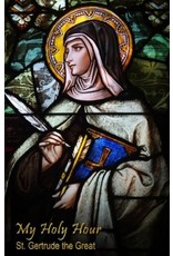 Holy Hour Books My Holy Hour - St. Gertrude the Great: A Devotional Prayer Journal