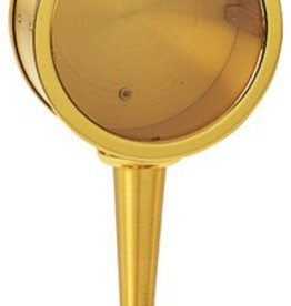 """Koleys Inc. 7 1/2"""" Tall, 3"""" Two Tone Gold Plated Reliquary"""