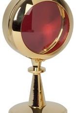 "Koleys Inc. 6 1/4"" Tall, 3"" 24k Gold Plated Reliquary"