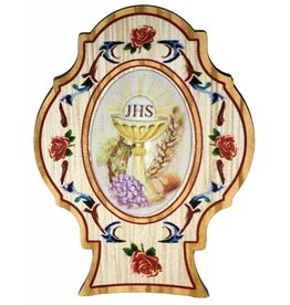 "WJ Hirten 2.5"" Communion Chalice Plaque"