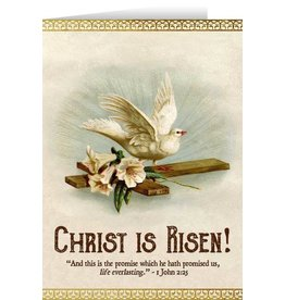 Nelson Fine Art Christ Is Risen Easter Card
