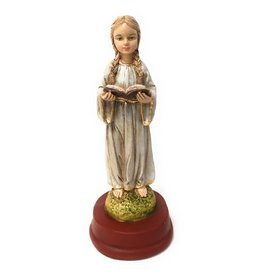 "Liscano, Inc. 5"" Mary as a Child Statue"