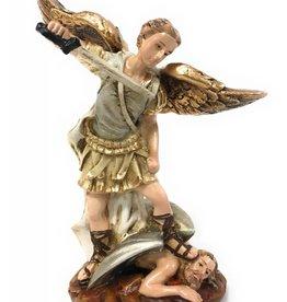 "Liscano, Inc. 5.5"" Saint Michael the Archangel Statue"