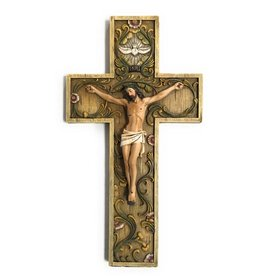 "Milagros 10"" Holy Spirit Crucifix"