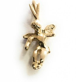 Wallace Brother manufacturing 14kt Angel Charm