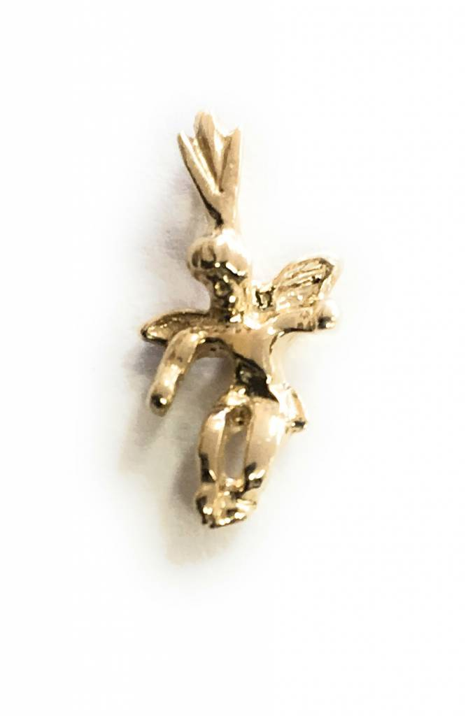 Wallace Brothers Manufacturing 14kt Angel Charm