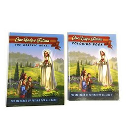 Deo Gratias Our Lady Of Fatima: The Graphic Novel and Coloring Book Set