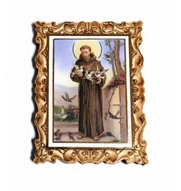 Moshy Brothers, Inc SMALL PICTURE FRAME MAGNET SAINT FRANCIS