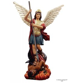 "Fiat Imports 48"" St. Michael Statue with 54"" wing span"