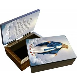 Nelson Fine Art Our Lady of Grace Keepsake Box