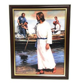 "John Brandi 11"" x 14"" Christ with Fisherman"