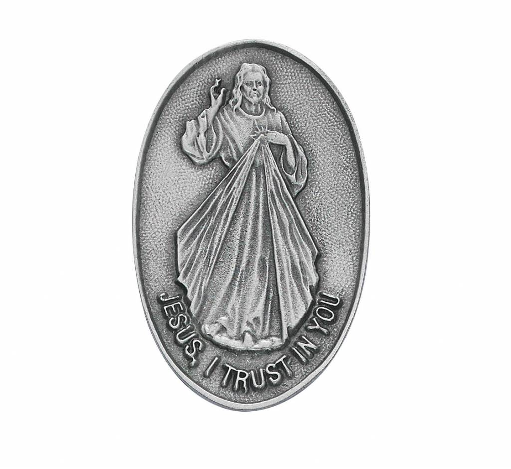 McVan Divine Mercy Visor Clip