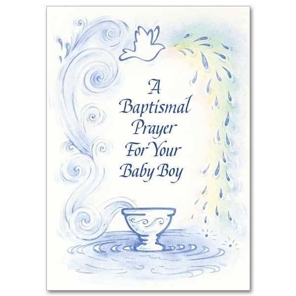 The Printery House A Baptismal Prayer For Your Baby Boy