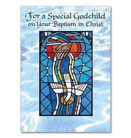 The Printery House For A Special Godchild on Your Baptism in Christ