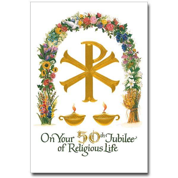 The Printery House On Your 50th Jubilee of Religious Life