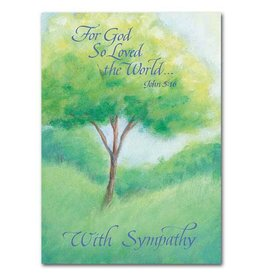 The Printery House God Gave His Only Son Sympathy Card