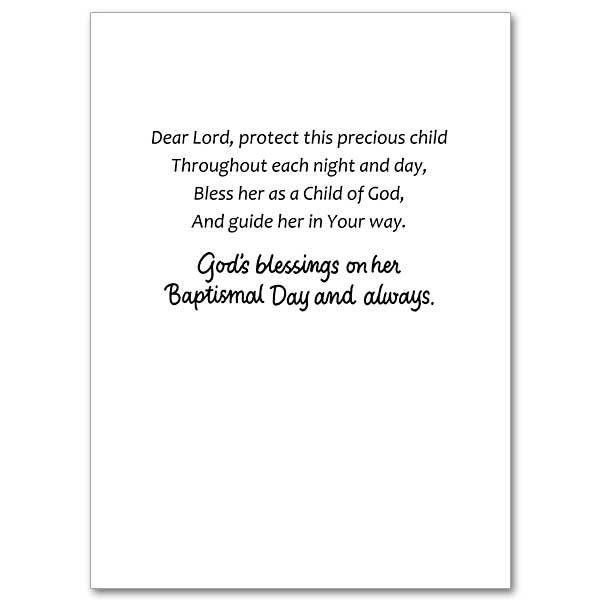 The Printery House A Baptismal Day Prayer for Your Baby Girl