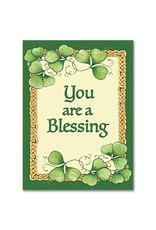The Printery House You Are a Blessing Abbey Irish Thank You Card