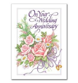 The Printery House On Your Wedding Anniversary Wedding Anniversary Card