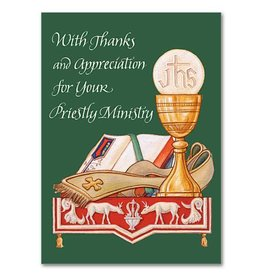 "The Printery House ""With Thanks and Appreciation for Your Priestly Ministry"" Greeting Card"