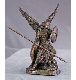 """Goldscheider of Vienna St. Raphael Statue, Bronzed 4"""""""