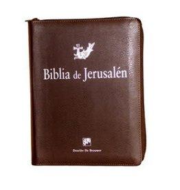 "Desclee de Brouwer Biblia de Jerusalen Manual con Funda Cremallera 6 x 8"" inches"