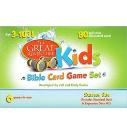 Ascension Press The Great Adventure Kids Bible Card Game Set