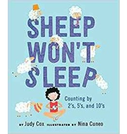 Holiday House Sheep Won't Sleep Counting by 2s, 5s, and 10s Judy Cox