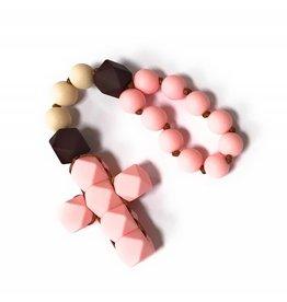 Little Saints Chewelry Little Saints Chewelry Decade Rosary - Safari Pink