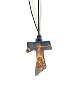 Moshy Brothers, Inc Pendant - Tau Cross on Cord