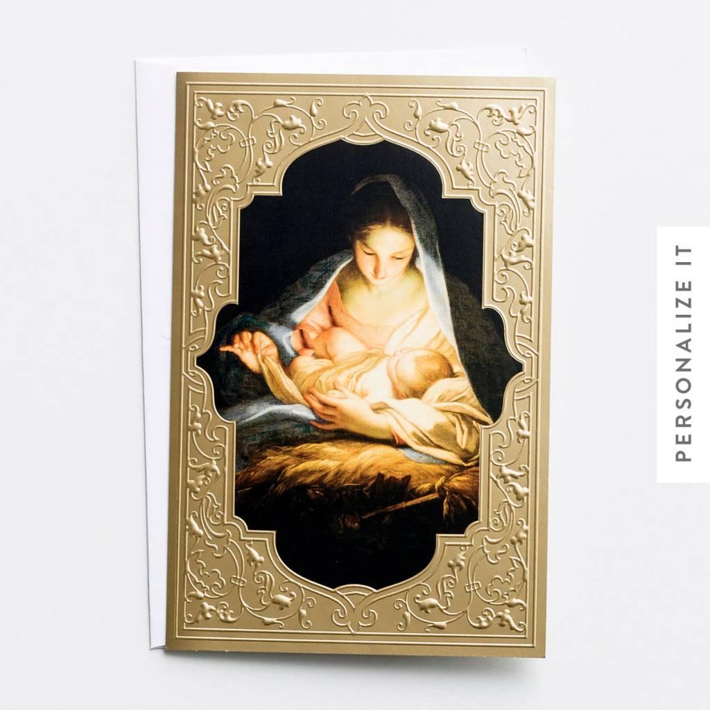 dayspring nativity christmas cards mary with jesus