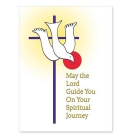 The Printery House May the Lord Guide You On Your Spiritual Journey RCIA Card