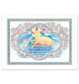 The Printery House The Lamb of God Easter Card