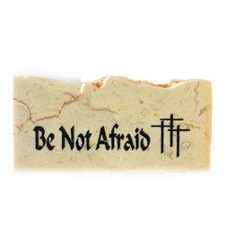 Holy Land Stone Be not afraid - Promise Stone