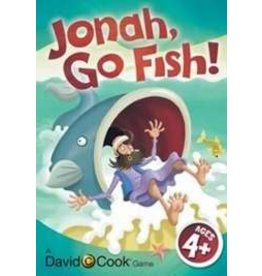 David C Cook Jonah, Go Fish! Jumbo Card Game
