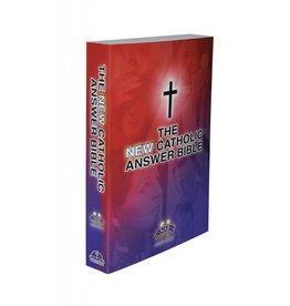 Fireside Catholic Publishing NABRE New Catholic Answer Bible Large Print