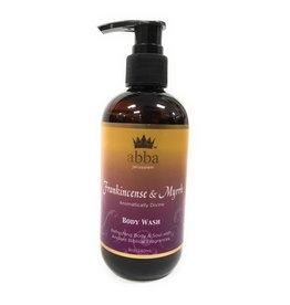 Abba 8 oz Frankincense & Myrrh Body Wash With Pump